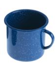 Emaille Tasse - Blau