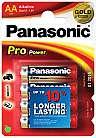 Batterie Panasonic Alkali AA 4 Pack