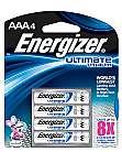 Ultimate Lithium Batterien AAA 4er