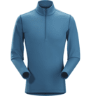 Phase AR Zip Neck LS Men
