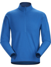 Delta LT Zip Neck Men