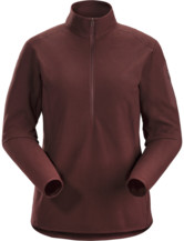 Delta LT Zip Neck Women