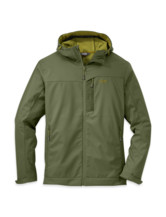 Transfer Hooded Jacket Men