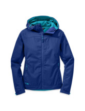Transfer Hooded Jacket Women
