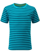 Half Moon Striped Tee