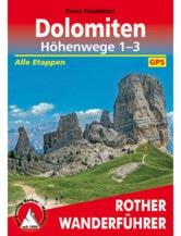 Wanderführer Dolomiten Höhenwege 1-3