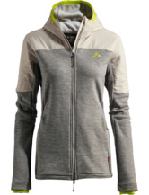 Womens Green Core Fleece Jacket