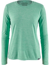 Womens Long-Sleeved Capilene Cool Daily Shirt