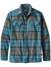 Long Sleeved Fjord Flannel Shirt Men