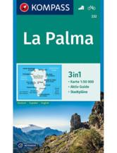 Wanderkarte La Palma