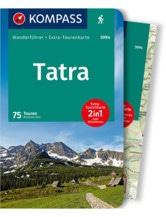 Wanderführer Tatra mit Karte