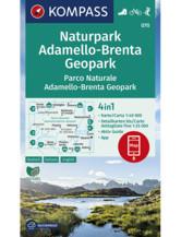 Wanderkarte Naturpark Adamello-Brenta