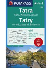 Wanderkarte Westliche Hohe Tatra