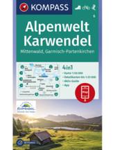 Wanderkarte Lauenburgische Seen, Ratzeburg, Mölln, Schaalsee