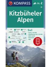 Wanderkarte Kitzbüheler Alpen