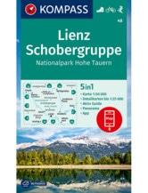 Wanderkarte Lienz, Schobergruppe, NP Hohe Tauern