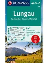 Wanderkarte Lungau, Radstädter Tauern, Maltatal