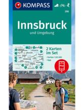 Wanderkarte Innsbruck und Umgebung