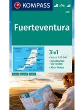 Wanderkarte Fuerteventura 3in1