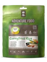 Curryrahm Früchtereis