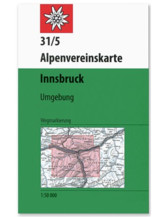 AV-Karte 31/5 WEG - Innsbruck Umgebung
