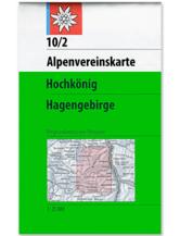 AV-Karte 10/2 - Hochkönig-Hagengebirge
