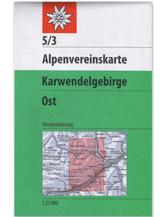AV-Karte 5/3 Karwendelgebirge, Ost