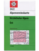 AV-Karte 34/1 Kitzbühler Alpen, West