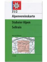 AV-Karte 31/2 - Stubaier Alpen, Sellrain