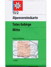 AV-Karte 15/2 - Totes Gebirge Mitte
