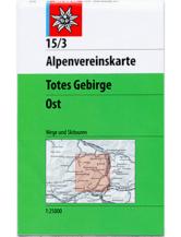 AV-Karte 15/3 - Totes Gebirge Ost