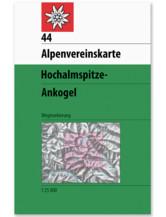 AV Karte 44 - Ankogel-Hochalmspitze