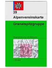 AV-Karte 39 Granatspitzgruppe