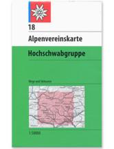AV Karte 18 - Hochschwabgruppe