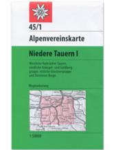 AV Karte 45/1 - Niedere Tauern I