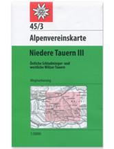 AV Karte 45/3 - Niedere Tauern III