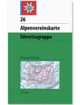 AV Karte 26 Silvrettagruppe