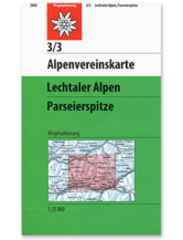 AV Karte 3/3 - Lechtaler Alpen, Parseierspitze