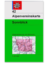 AV Karte 42 - Sonnblick
