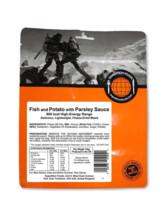 Fisch mit Kartoffel und Petersiliensoße, (800 kcal)