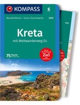 Wanderführer Kreta mit E4 - 2-in-1