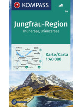 Wanderkarte Jungfrau-Region