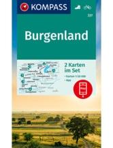 Wanderkarte Burgenland