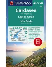 Wanderkarte Gardasee und Umgebung