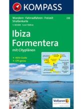Wanderkarte Ibiza, Formentera