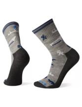 Men's Hike Light Park Explorer Pattern Crew Socks