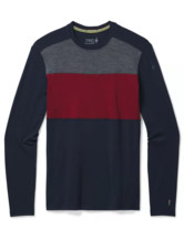 Men's Merino 250 Base Layer Colorblock Crew