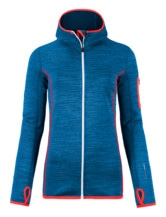 Fleece Melange Hoody Women
