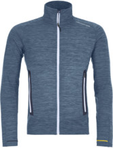 Fleece Light Melange Jacket Men