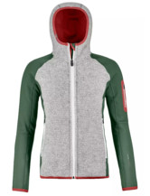 Fleece Plus Classic Knit Hoody Women